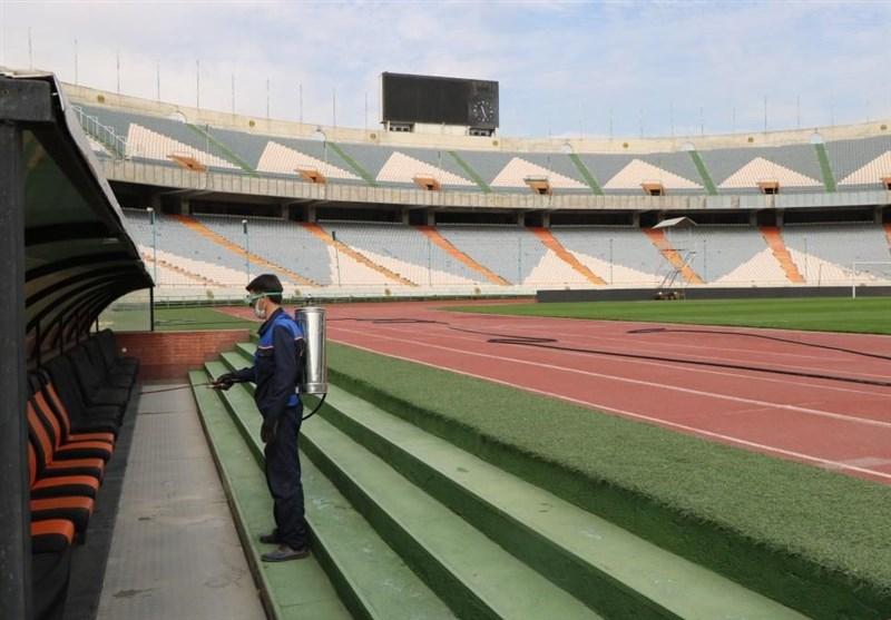Azadi Stadium Sanitized Ahead of IPL New Season