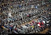 ترخیص بیش از 23 هزار موتورسیکلت رسوبی
