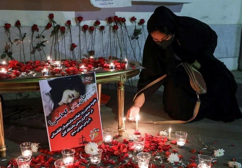 دانشجویان مشهدی با ملت افغانستان ابراز همدردی کردند