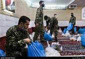 حضور خطشکنان بسیجی در جبهههای اقتصادی و مبارزه نفسگیر با کرونا/ 250 گروه جهادی در میدان مقابله با ویروس کووید 19 درقم فعال هستند