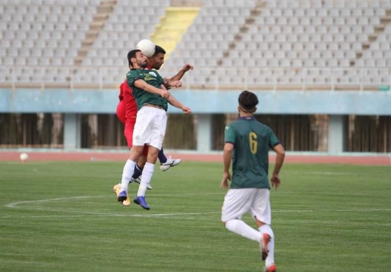 لیگ برتر فوتبال| پیروزی نساجی مقابل آلومینیوم در نیمه اول