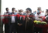 سایت امداد هوایی هلال احمر لرستان افتتاح شد