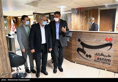 محمد اسلامی وزیر راه و شهرسازی در خبرگزاری تسنیم