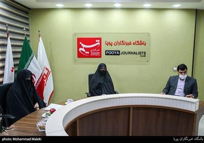 حضور خانواده شهید طهرانی مقدم در باشگاه خبرنگاران پویا