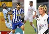 طارمی، قلیزاده و رضایی در میان برترین لژیونرهای هفته فوتبال آسیا