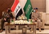 دیدار روسای ستاد مشترک ارتش عراق و عربستان در ریاض