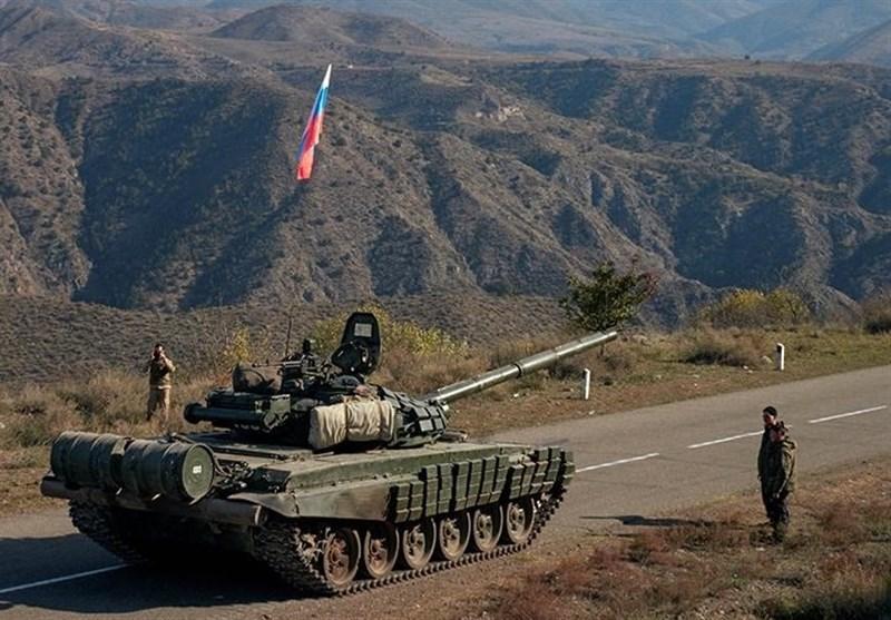 استقرار پستهای نظارت صلحبانان روسی در منطقه قره باغ