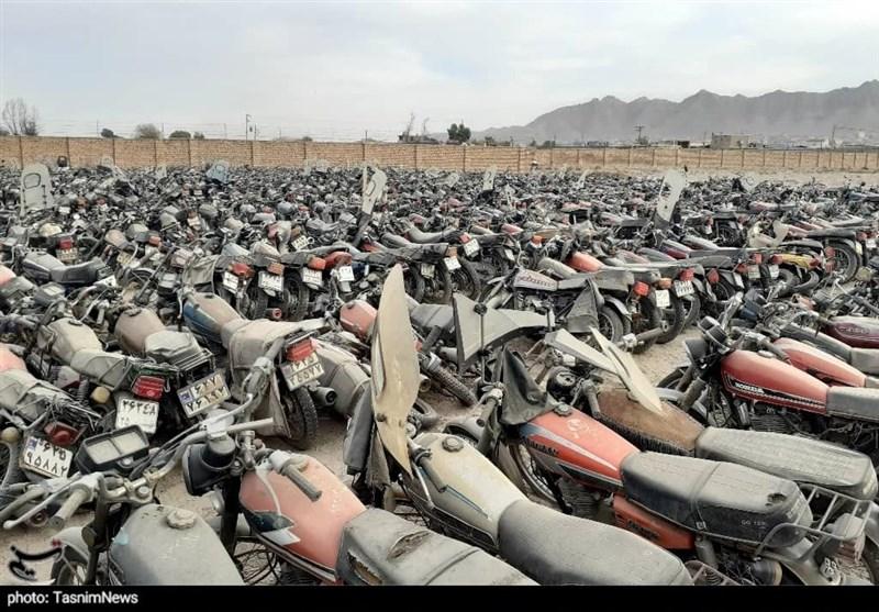 تهران| آخرین فرصت برای ترخیص موتورسیکلتهای رسوبی توقیف شده