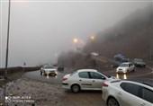 جاده چالوس مسدود شد/ افزایش 1.9 درصدی تردد در جادههای کشور