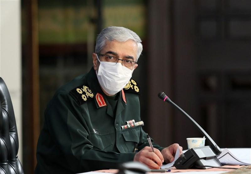 سرلشکر باقری: رزمایشهای نیروهای مسلح موجب شکست خفتبار دشمنان شد/آنها با خفت منطقه را ترک کردند