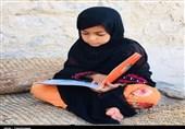 """اجرای طرح """"کوله کتاب"""" در روستاهای مرزی بلوچستان+ تصاویر"""
