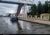 آبگرفتگی معابر؛ سریال تکراری «پس از باران» در سمنان