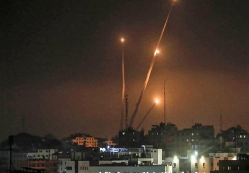آغاز دور جدیدی از حملات راکتی علیه شهرکهای اسرائیلی+فیلم