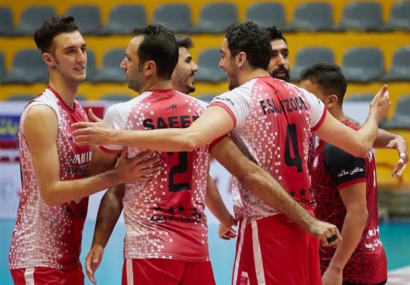 لیگ برتر والیبال|شهرداری ارومیه با برد مقابل همنام قزوینی به رده دوم جدول صعود کرد