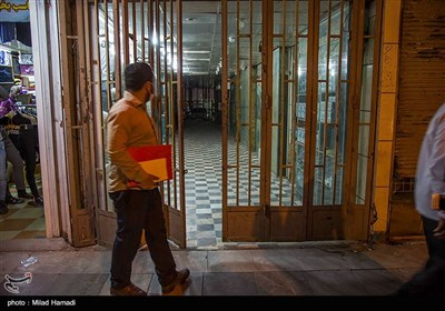 Government Enforces COVID-19 Restrictions in Iran