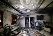 آتشسوزی در یک مجتمع مسکونی در یافتآباد/ نجات بیش از 25 نفر از ساکنان + فیلم و تصاویر