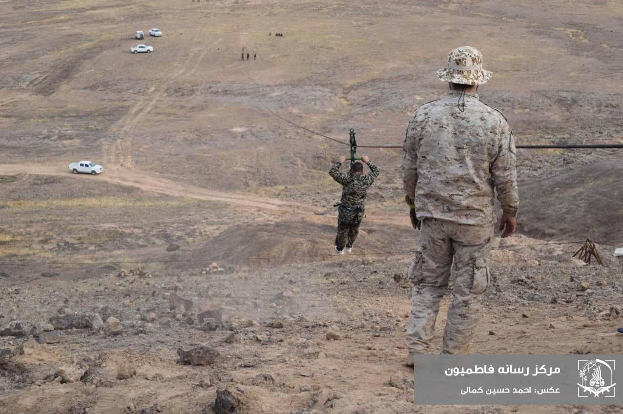 لشکر فاطمیون , مدافعان حرم , جبهه مقاومت اسلامی , کشور سوریه , عکس ,