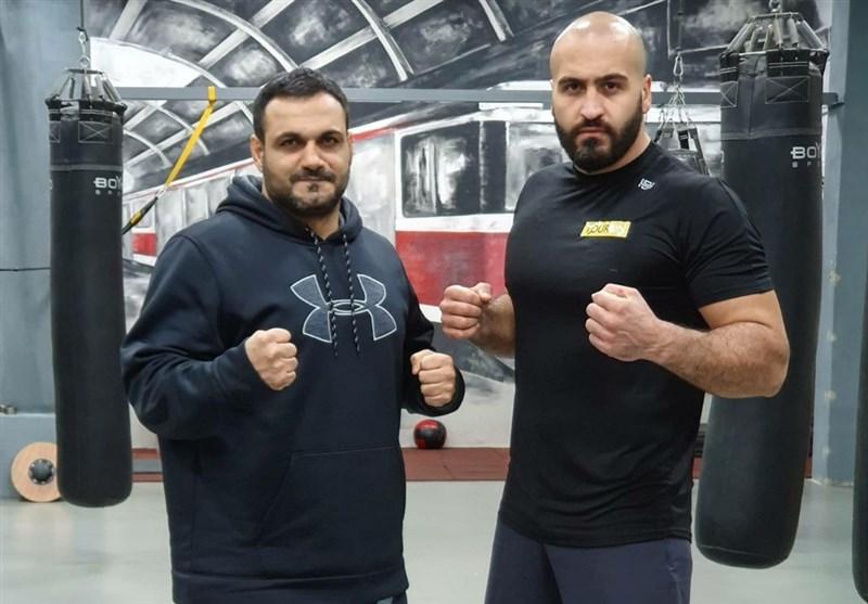 حضور مدالآور سابق ساواته ایران در رقابتهای بوکس حرفهای