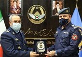Iran, Iraq Air Force Commanders Discuss Joint Action against Terrorism
