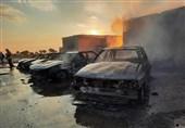 عامل آتش زدن 4 دستگاه خودرو در خیابان دیباجی بازداشت شد