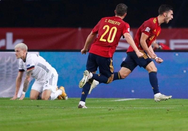 لیگ ملتهای اروپا  اسپانیا آلمان را ششتایی کرد و راهی مرحله بعد شد/ پیروزی فرانسه و پرتغال در شب سقوط سوئد