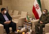 رئیس اورژانس کشور با فرمانده ارتش دیدار کرد