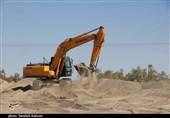 آمادگی مقابله با وقوع احتمالی سیلاب در سیستان/ 321 پل شهرستانهای منطقه لایروبی شد