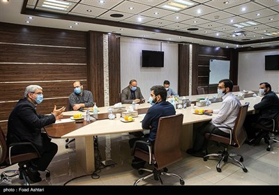 حضور جمال عرف معاون سیاسی وزارت کشور در خبرگزاری تسنیم