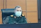 فرمانده سپاه مازندران: اقشار 22 گانه بسیج برای مهار کرونا در استان پای کار شدند