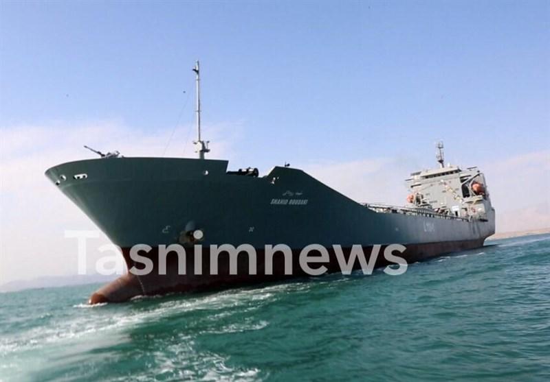 Oceangoing Warship Joins IRGC Navy Fleet