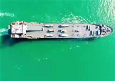 الحاق ناو پشتیبانی و رزمی شهید رودکی به نیروی دریایی سپاه