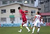 لیگ برتر فوتبال| تساوی نساجی و تراکتور در نیمه اول