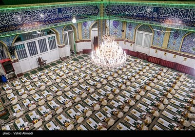 مرحله پنجم رزمایش همدلی و مواسات در مسجد محمد بن عبدالله(ص)