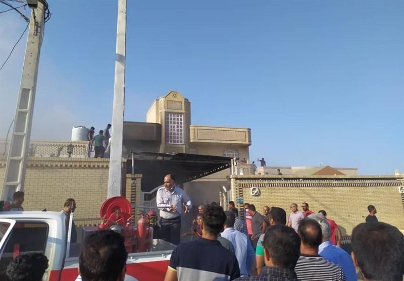 وقتی 4 هزار نفر در «رمچاه» قشم از ایستگاه آتش نشانی محروم هستند؛ خسارت سنگین به یک واحد مسکونی