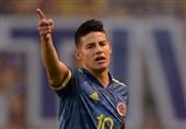 واکنش خامس به شایعه درگیری فیزیکیاش در رختکن تیم ملی کلمبیا