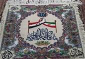 برای نخستین بار در جهان تابلوفرش ریزبافت «دوستی ایران و عراق» در خوی بافته شد
