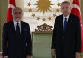 دیدار عبدالله عبدالله با اردوغان