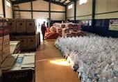 114 سری جهیزیه به نوعروسان و 2 هزار بسته غذایی میان نیازمندان توزیع شد
