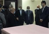 بازدید رئیس و دبیرکل کمیته ملی المپیک از پروژههای عمرانی آکادمی