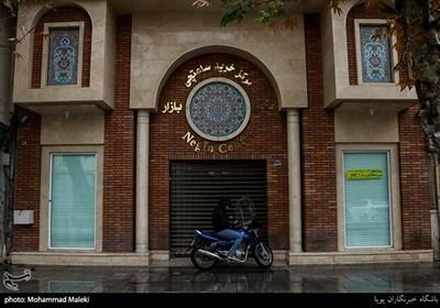 تعطیلی بازار تهران درپی موج سوم کرونا