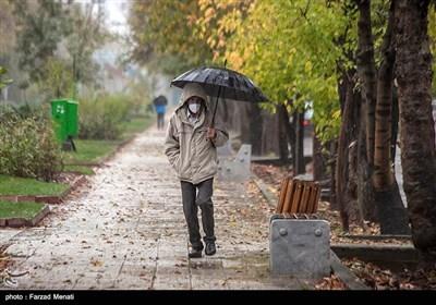 بارش باران در کرمانشاه
