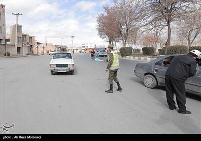 محدودیت تردد در ورودی شهر و تعطیلی بازارشهرکرد