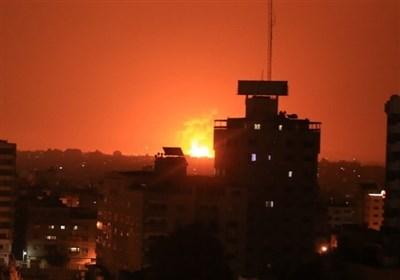 رژیم صهیونیستی یک مرکز دیدهبانی مقاومت در غزه را هدف قرار داد