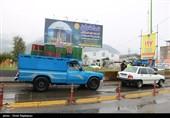 تردد خودرو در محور های آذربایجان شرقی 50 درصد کاهش یافته است