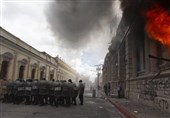 Protesters Set Fire to Guatemala's Congress Building