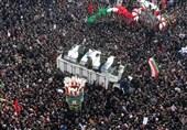 رویترز تختار صورة من مراسم تشییع جثمان الشهید الجنرال سلیمانی ضمن أفضل صور عام 2020