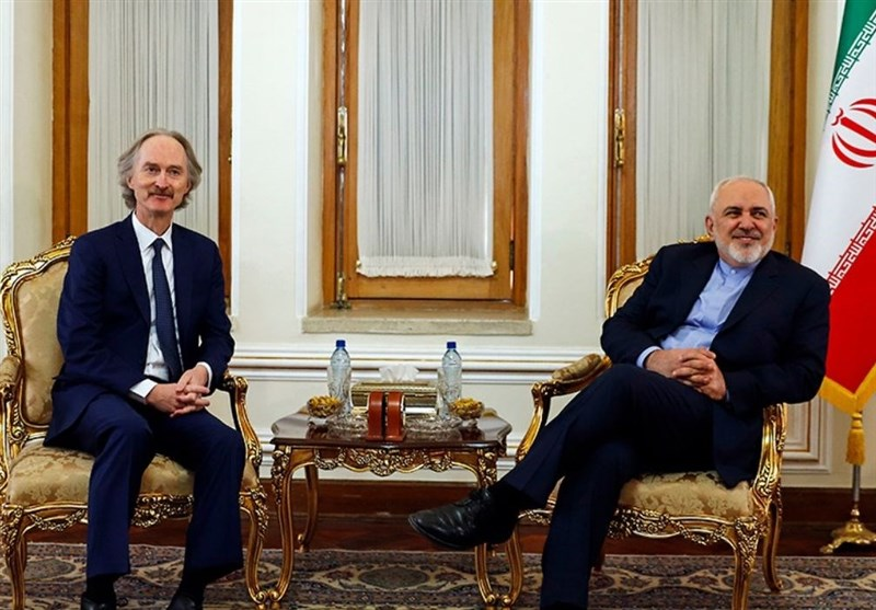 Iranian FM, UN Envoy for Syria Meet in Tehran