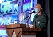 اللواء سلامی: سنجبر الأعداء على الرضوخ لإرادة الشعب الإیرانی