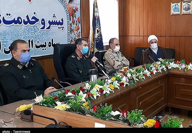 فرمانده سپاه کردستان: بسیجیان بیمنت خدمتگزار مردم هستند