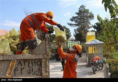 آماده باش نیروهای خدمات شهری شهرداری مشهد قبل از بارش برف